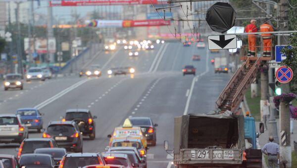 Щелковское шоссе. Архивное фото