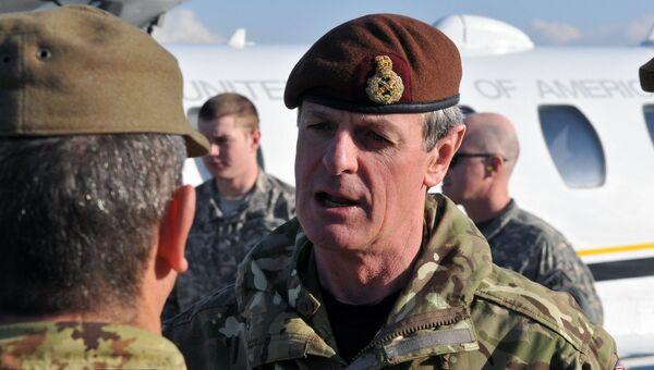 Заместитель верховного главнокомандующего объединенными вооруженными силами НАТО в Европе генерал Ричард Ширрефф