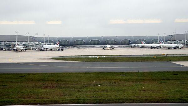Аэропорт Шарль-де-Голль в Париже. Архивное фото