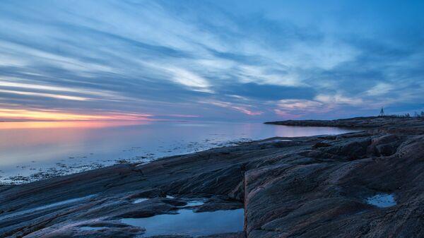 Берег Белого моря в Карелии. Архивное фото
