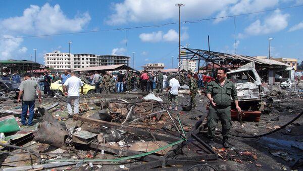 Серия терактов в городе Джабле (провинция Латакия) Сирия