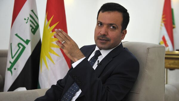 Спикер парламента Иракского Курдистана Юсуф Мухаммед Садык. Архив