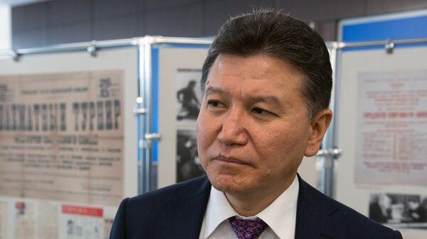 Глава ФИДЕ Кирсан Илюмжинов. Архивное фото