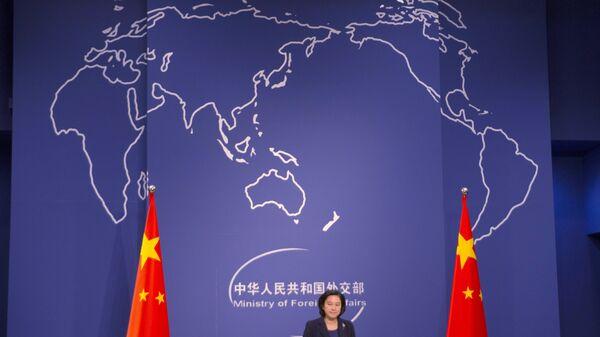 Официальный представитель МИД КНР Хуа Чуньин