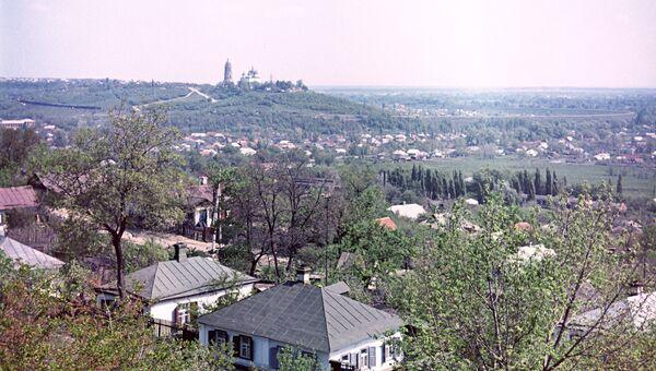 Вид на пригород Полтавы. Архивное фото