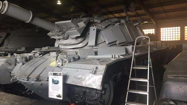 Россия возвращает Израилю его танк, который был захвачен сирийскими войсками в качестве трофея в начале 1980-х годов