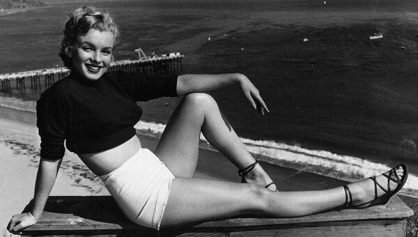 Американская актриса Мэрилин Монро. Архивное фото