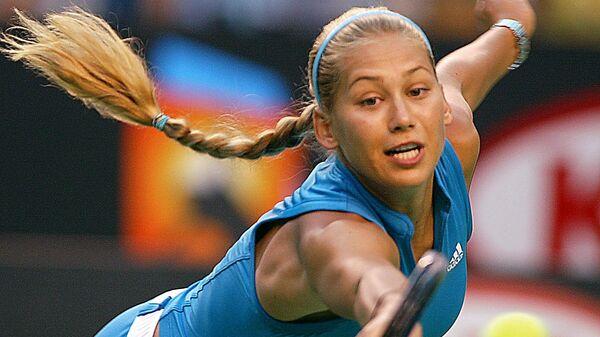 Теннисистка Анна Курникова