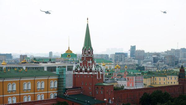 Троицкая башня Московского Кремля. Архивное фото