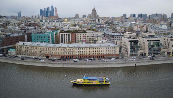 Пречистенская набережная в Москве. Архивное фото