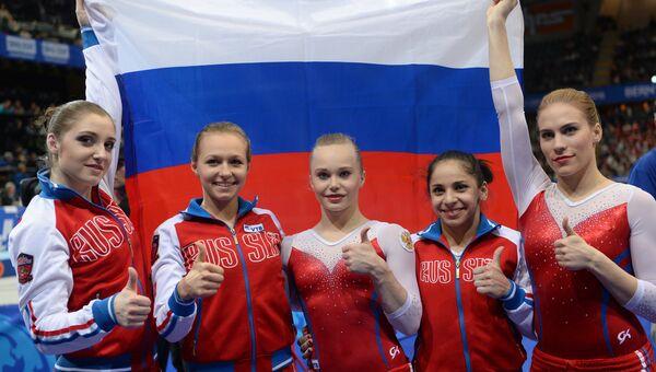 Спортивная гимнастика. Чемпионат Европы. Женщины