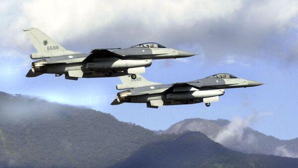 Истребители F-16 ВВС Тайваня. Архивное фото