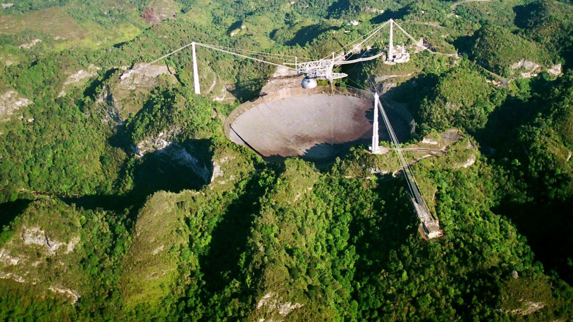 "В Пуэрто-Рико разрушился гигантский радиотелескоп ""Аресибо"""