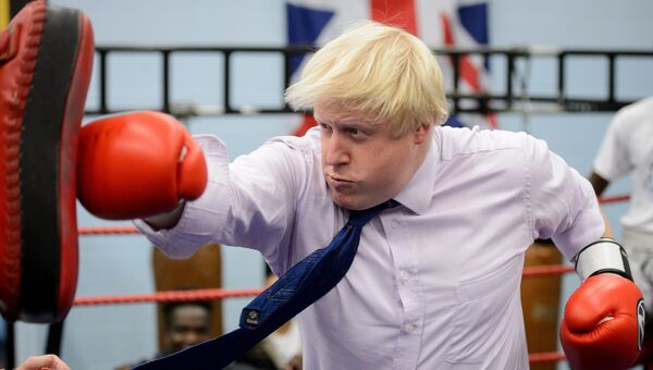 Бывший мэр Лондона Борис Джонсон