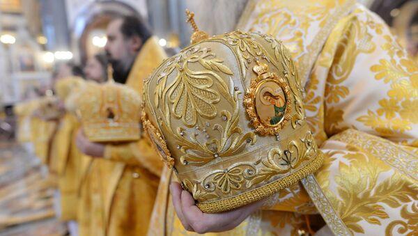 Богослужение по случаю 6-й годовщины интронизации патриарха Кирилла