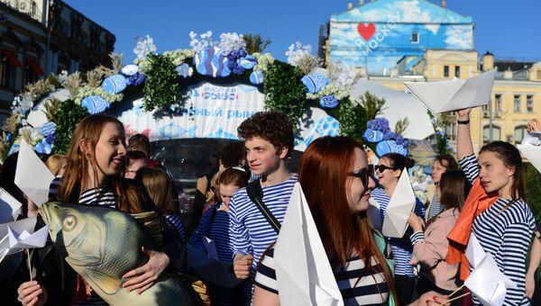 Гастрономический фестиваль Рыбная неделя. Архивное фото