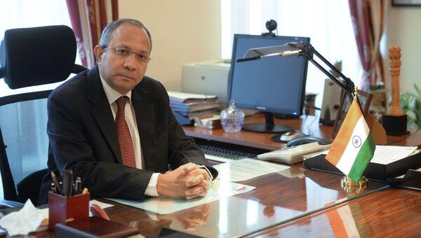 Новый посол Индии в России Панкадж Саран. Архив