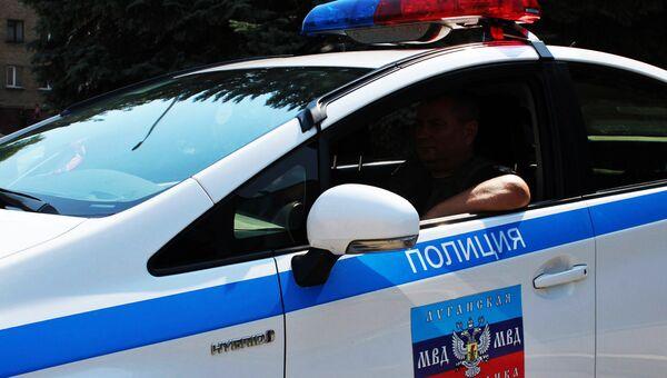 Сотрудник правоохранительных органов ЛНР. Архивное фото