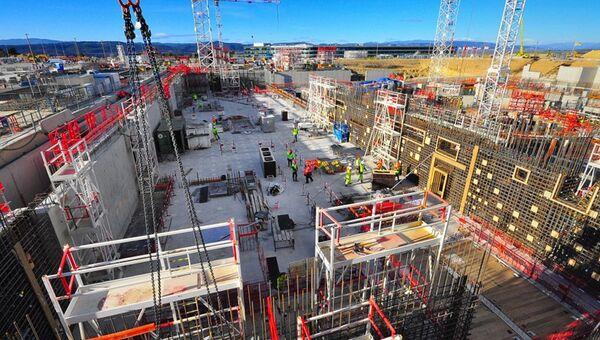 Строительство международного термоядерного экспериментального реактора (ИТЭР)