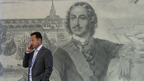 Участник в Экспофоруме на XX Петербургском международном экономическом форуме
