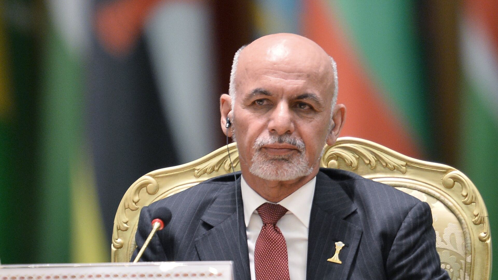 Президент Афганистана Мохаммад Ашраф Гани  - РИА Новости, 1920, 02.08.2021