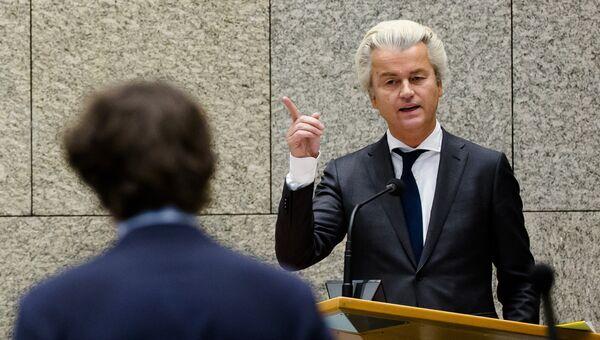 Лидер крайне правой голландской Партии за свободу Герт Вилдерс. Архивное фото