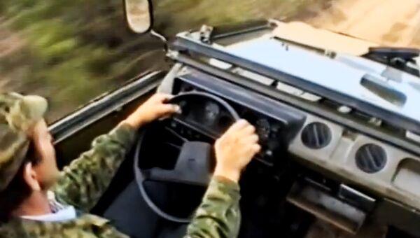 Автомобиль-амфибия. Архивное фото