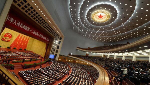 Всекитайское Собрание народных представителей. Архивное фото