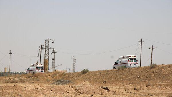 Автомобили скорой помощи в Ираке. Архивное фото