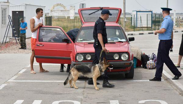 Пункт пропуска на границе России и Украины. Архивное фото
