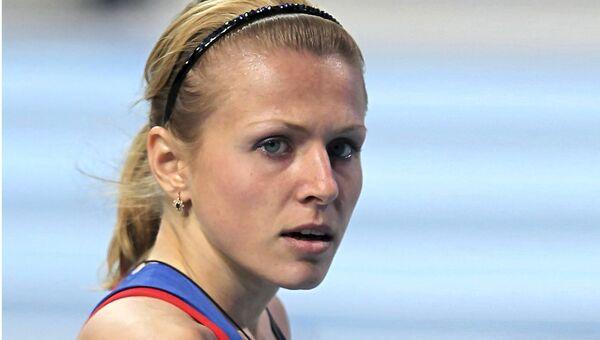 Российская легкоатлетка Юлия Степанова. Архивное фото