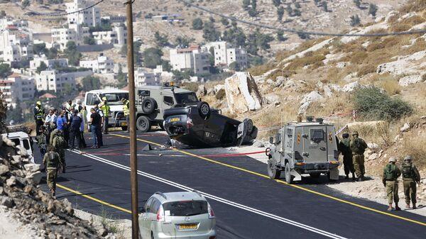 Израильские военные на Западном берегу реки Иордан. Архивное фото
