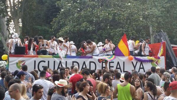 Гей-парада в Мадриде