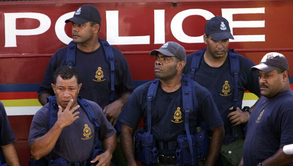 Полицейские на Фиджи. Архивное фото