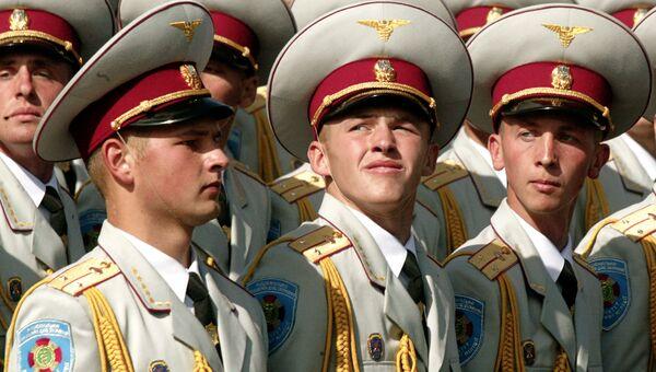 Украинские офицеры. Архивное фото