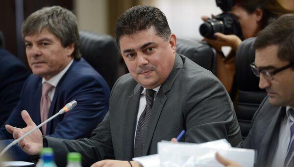 Министр экономики Молдавии Октавиан Калмык. Архивное фото