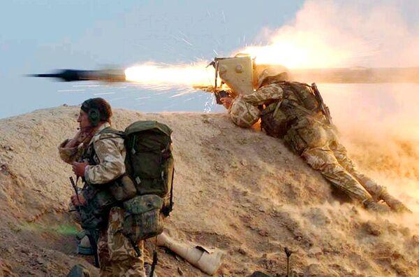 Британские войска на юге Ирака