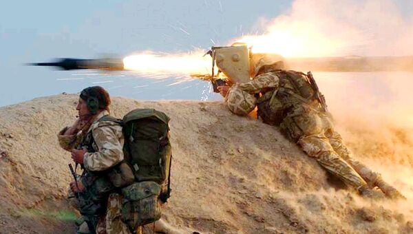 Британские войска на юге Ирака. Архивное фото