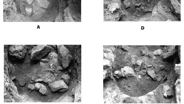 Могила шаманки в пещере Хилазон Таштит