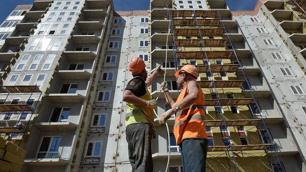 Жилищное строительство в Московской области. Архивное фото