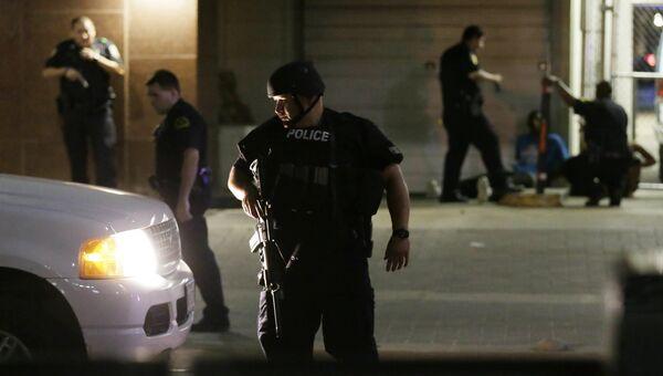 Полицейские в Далласе. Архивное фото