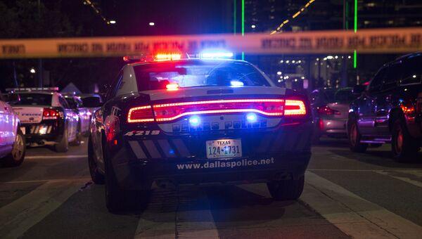 Полицейские машины в Далласе. Архивное фото