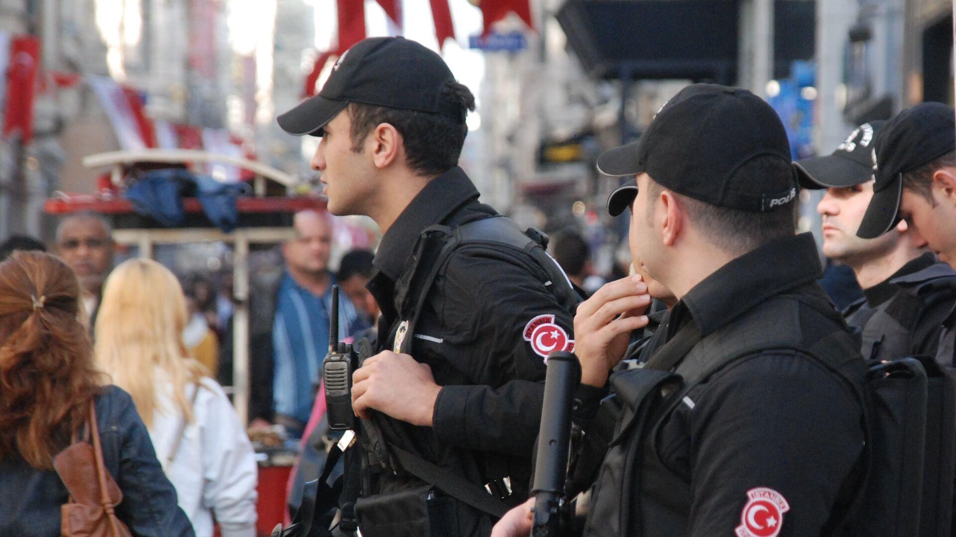 Полиция на улице Стамбула - РИА Новости, 1920, 04.12.2020
