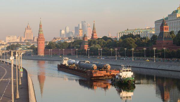 Оборудование для строительства на МНПЗ новой установки доставлено в Москву