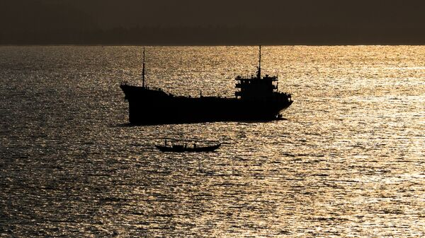 Корабль в Южно-Китайском море. Архивное фото