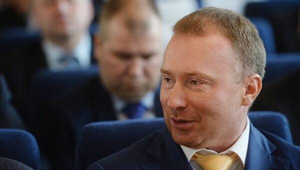 Руководитель Высшего Совета партии ЛДПР Игорь Лебедев. Архив