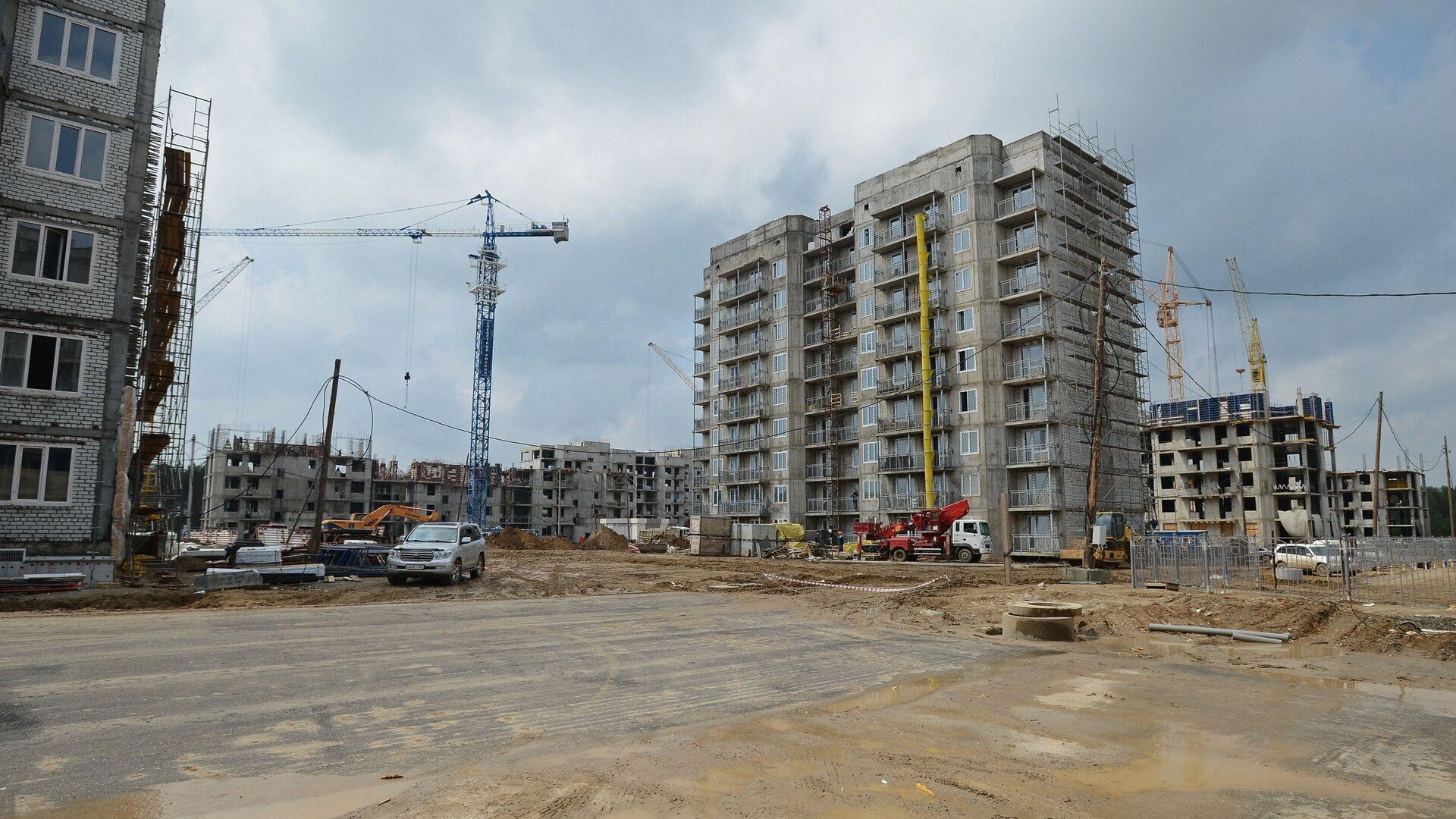 Строительство жилых домов - РИА Новости, 1920, 21.09.2020