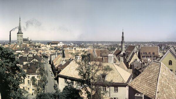 Крыши старого города. Таллин