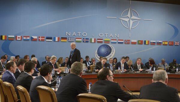 Заседание Совета Россия - НАТО в Брюсселе. Архивное фото.