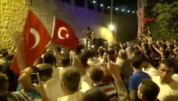 Ситуация в Стамбуле. 16 июля 2016